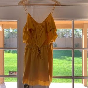 6 Shore Road Yellow Mini Dress
